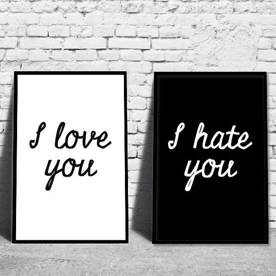 Plakaty W Ramach Miłość Plakat I Sentencje