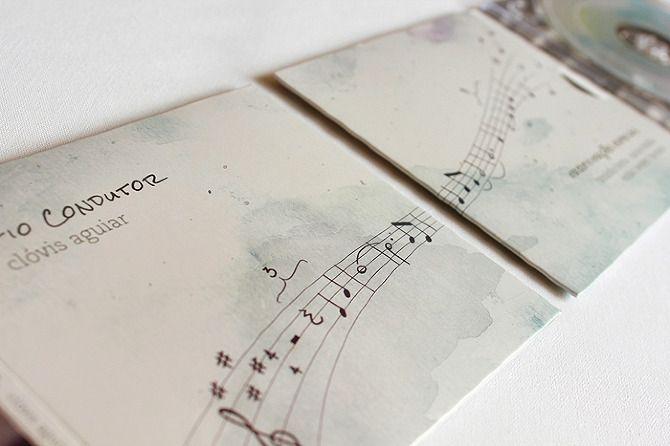 Fio Condutor - CD cover design