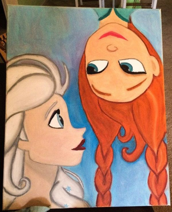 40 Pictures of Cool Disney Painting Ideas 31. 40 Pictures of Cool Disney Painting Ideas   Page 2 of 2   Disney