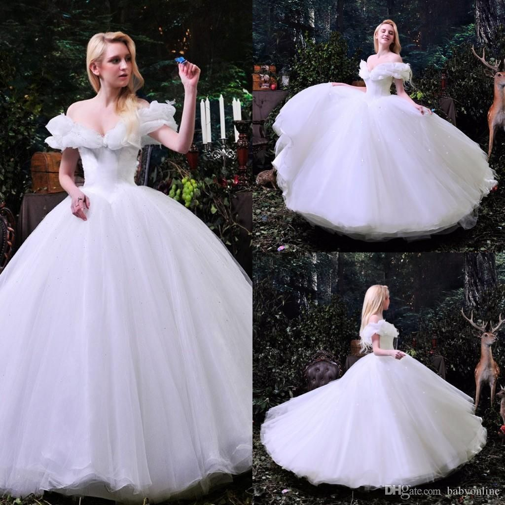 2019 Cinderella Ball Gown Wedding Dress - Dresses for Wedding Party ...