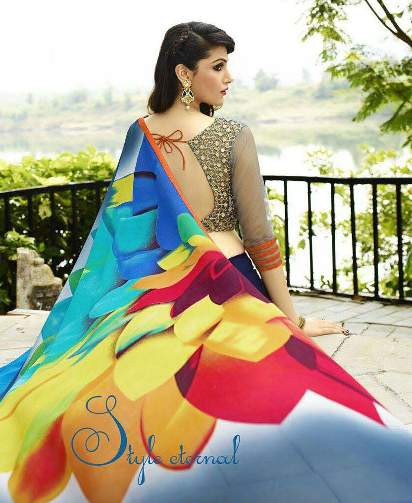 Saree blouse designs pin by affordbuy on sarees collection  pinterest  saree collection