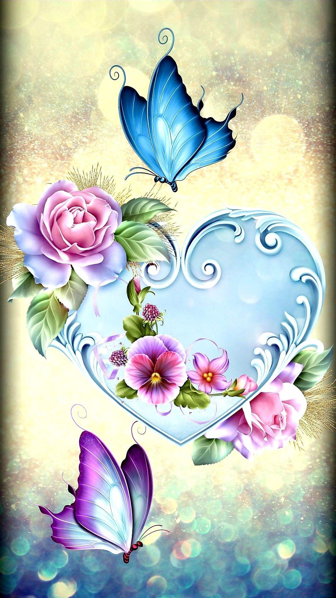 Pin by Jouria Warda on ANIMAIS   Butterfly wallpaper ...