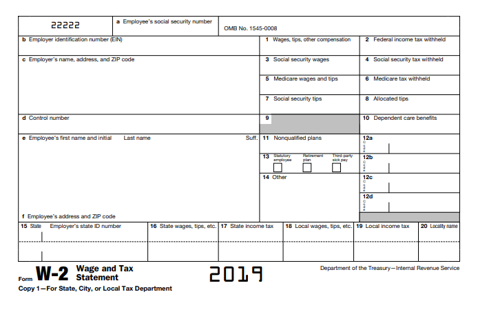 24a31b27a5908e6ec72f6af273e3d010 - How To Get A Copy Of W2 Form 2019
