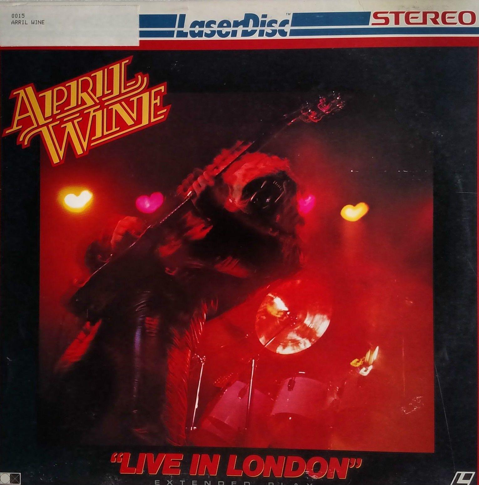 April Wine Laser Disc Https Www Facebook Com Fromthewaybackmachine Rock Album Covers Classic Rock Albums Album Cover Art