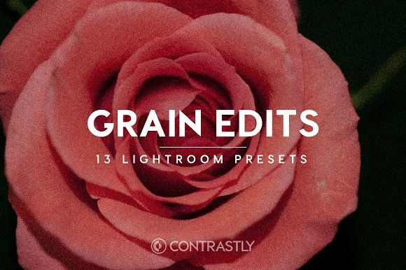 Click to download Grain Edits Lightroom Presets by Contrastly Shop