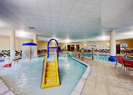 Hampton Inn Suites Oklahoma City Bricktown Hotel Ok Pool Activities Indoor Waterpark Oklahoma City Hotels Bricktown Oklahoma City