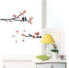 Birds Tree Branch Mural Removable Art Decal Vinyl Wall Sticker DIY Home Decor