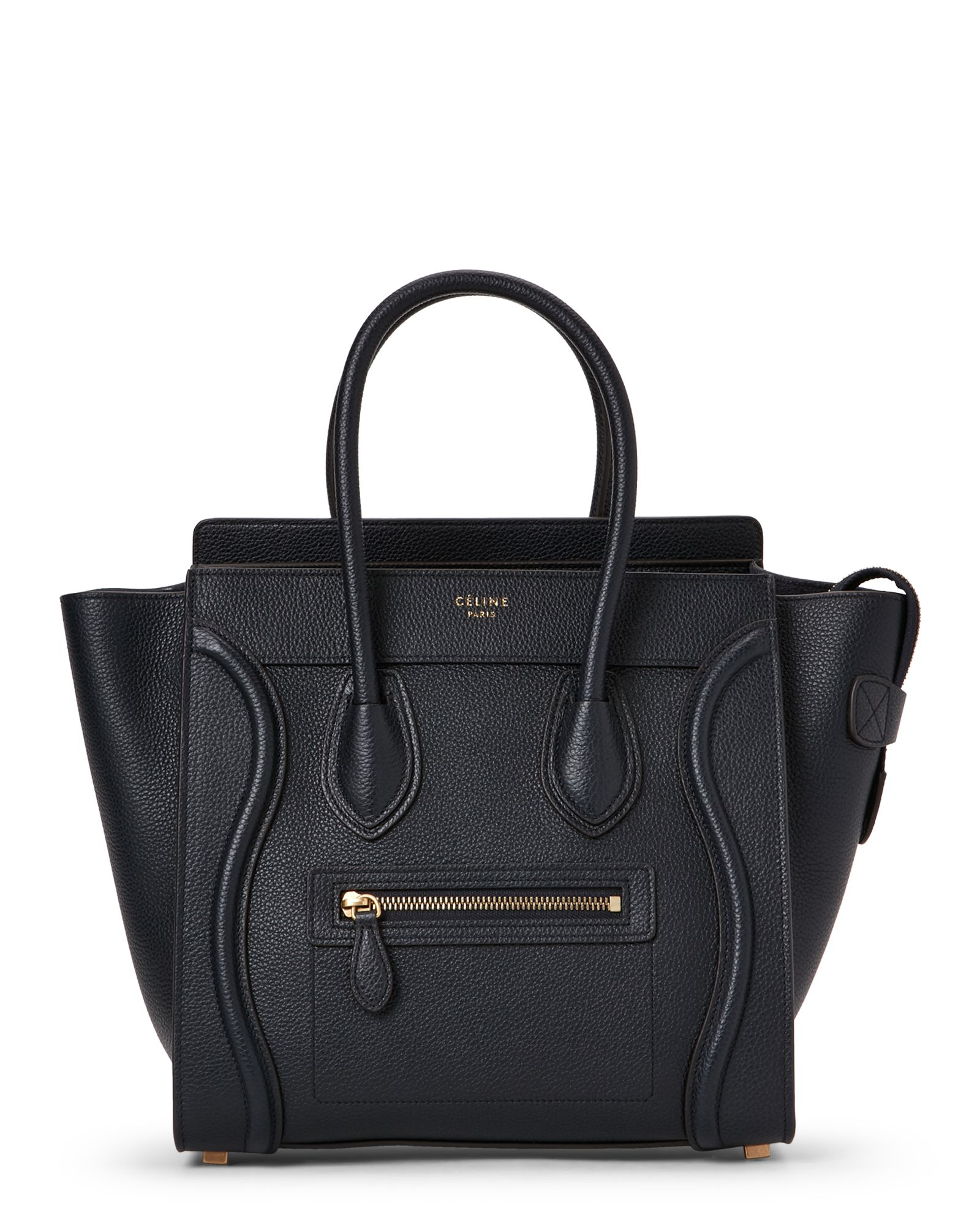 548eaca5a6 Céline Midnight Micro Luggage Tote