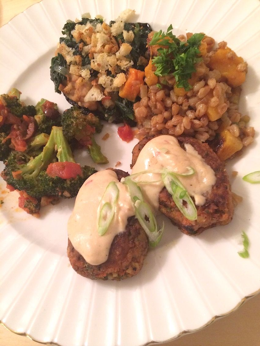 A Gourmet Vegan Dinner With Pam Brown Vegan Recipes