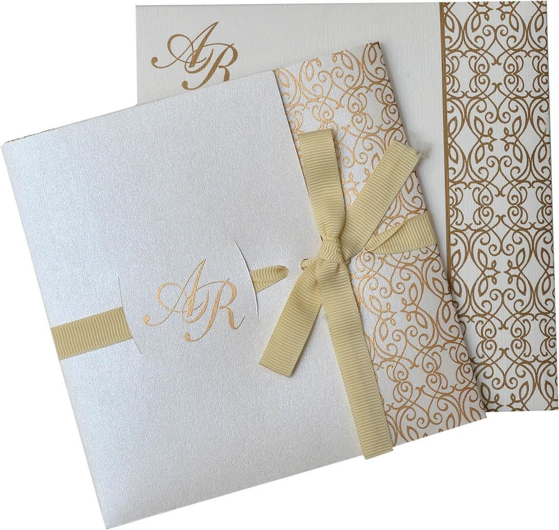 indian wedding hindu invitations%0A US      Royal and Classic invitation made on Cream shimmer finish sheet  with Golden