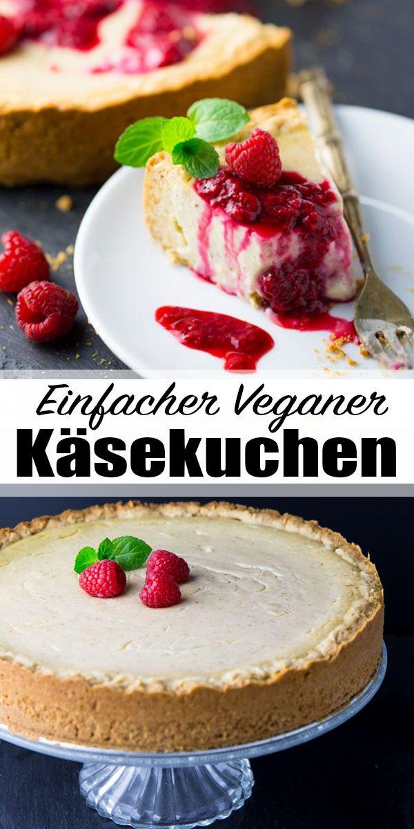 Photo of Vegan cheesecake with raspberries