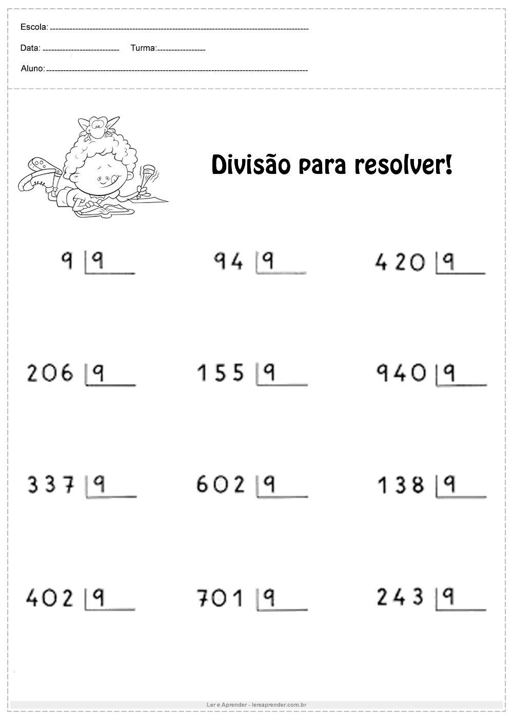 Pin Em Primaria Matematicas