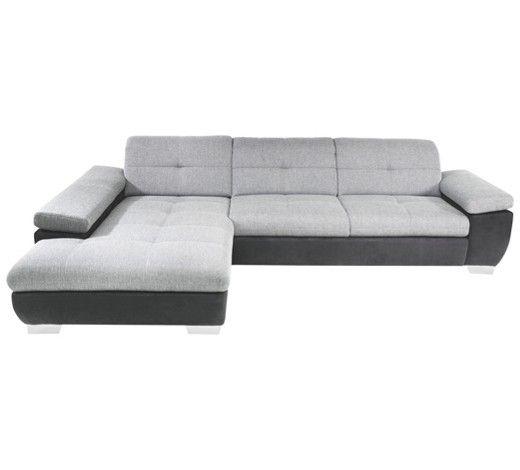 Moderne Wohnlandschaft von XORA zeitgemäßes Design in Grau und