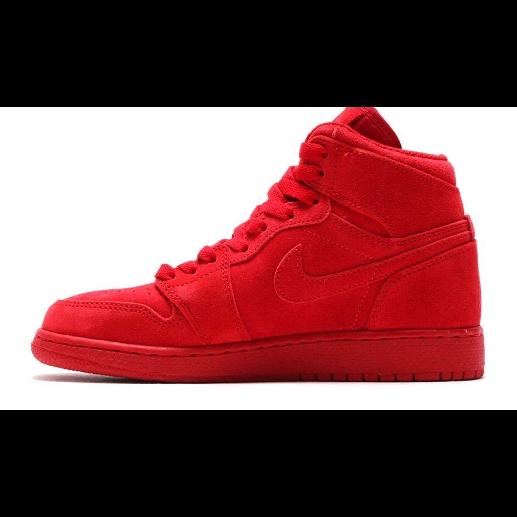 Jordan's 1 Full red   Jordans for men, Jordans, Red sneakers