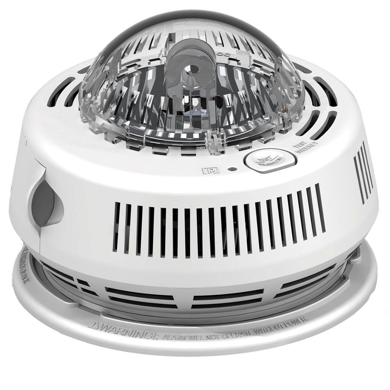 First Alert Smoke Alarm With Led Strobe Light For The Hearing Impaired Smoke Alarms Strobe Lights Motion Sensor Lights Outdoor