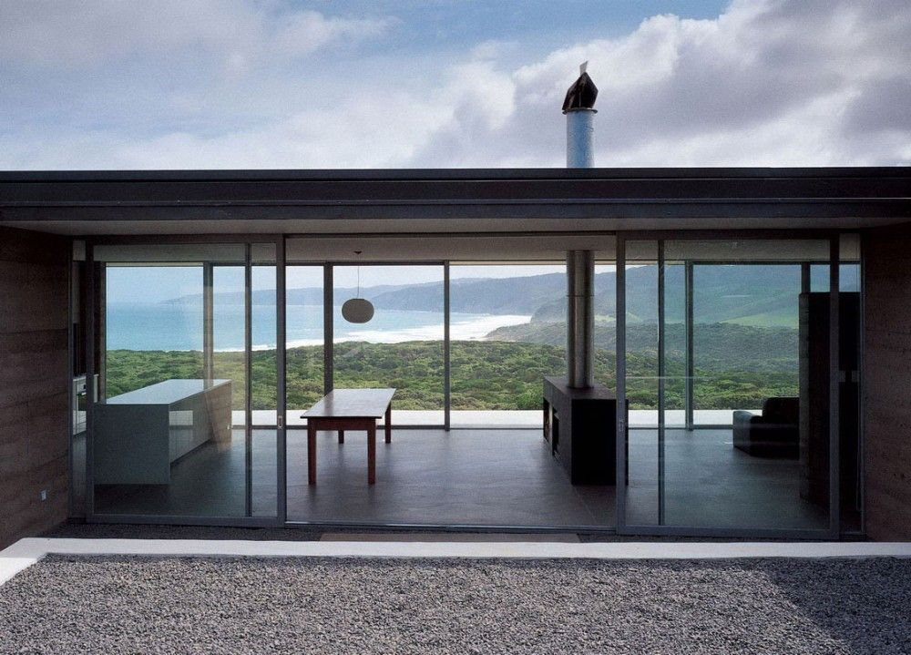 Image Result For Black Minimalist Glass House