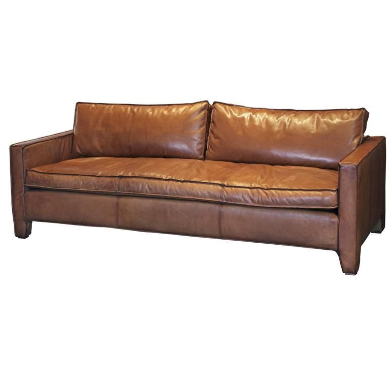 Comfortable Modern And Sleek Calfskin Leather Three Seat Sofa Couch Leather Corner Sofa Three Seat Sofa Modern Leather Sofa