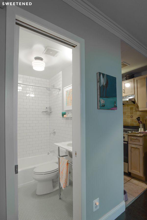 Amyu0027s Sweetened Brooklyn Heights Bathroom Renovation