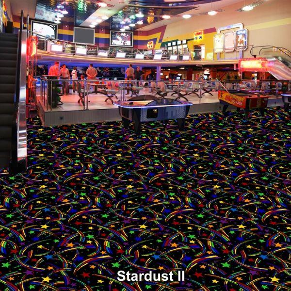 Bowling Alley (Bowling Center) Carpet, Black Light ...