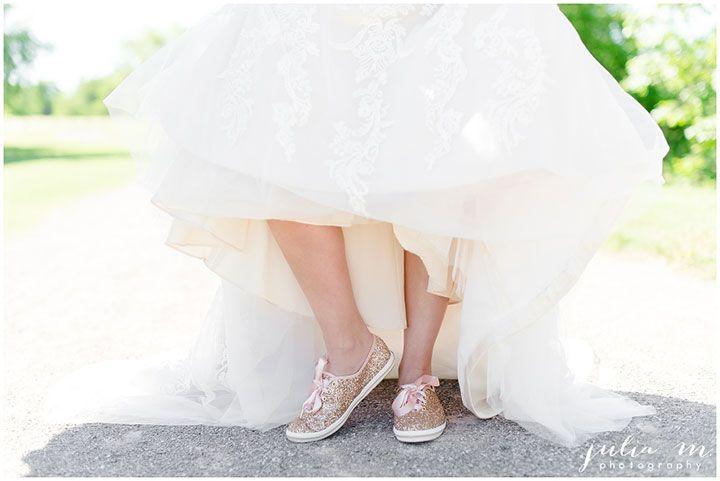 Rose gold glitter dancing shoes ~ Keds X Kate Spade New York ...