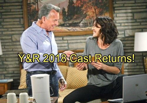 The Young And The Restless Spoilers Yr  Cast Returns Including Ian Ward And Adam