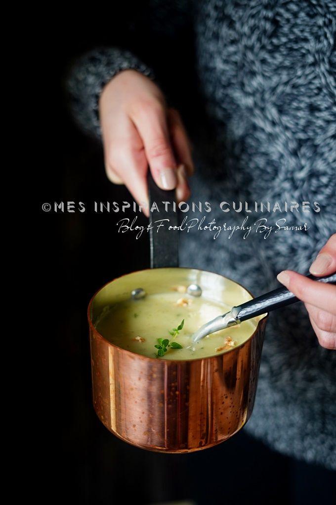 Soupe salsifis et poireaux, recette végétarienne | Recette ...