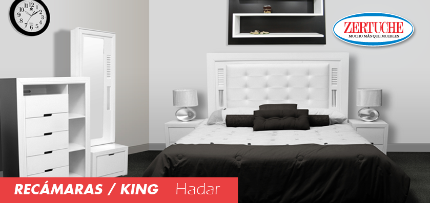 Rec mara king size hadar decoracion muebles for Muebles estilo contemporaneo moderno