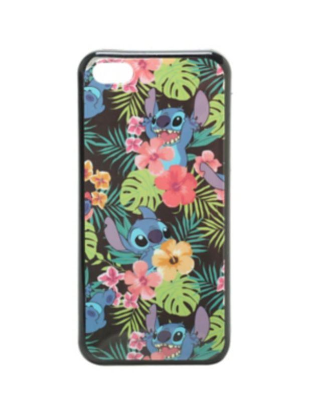 Disney Lilo & Stitch Floral iPhone 5C Case
