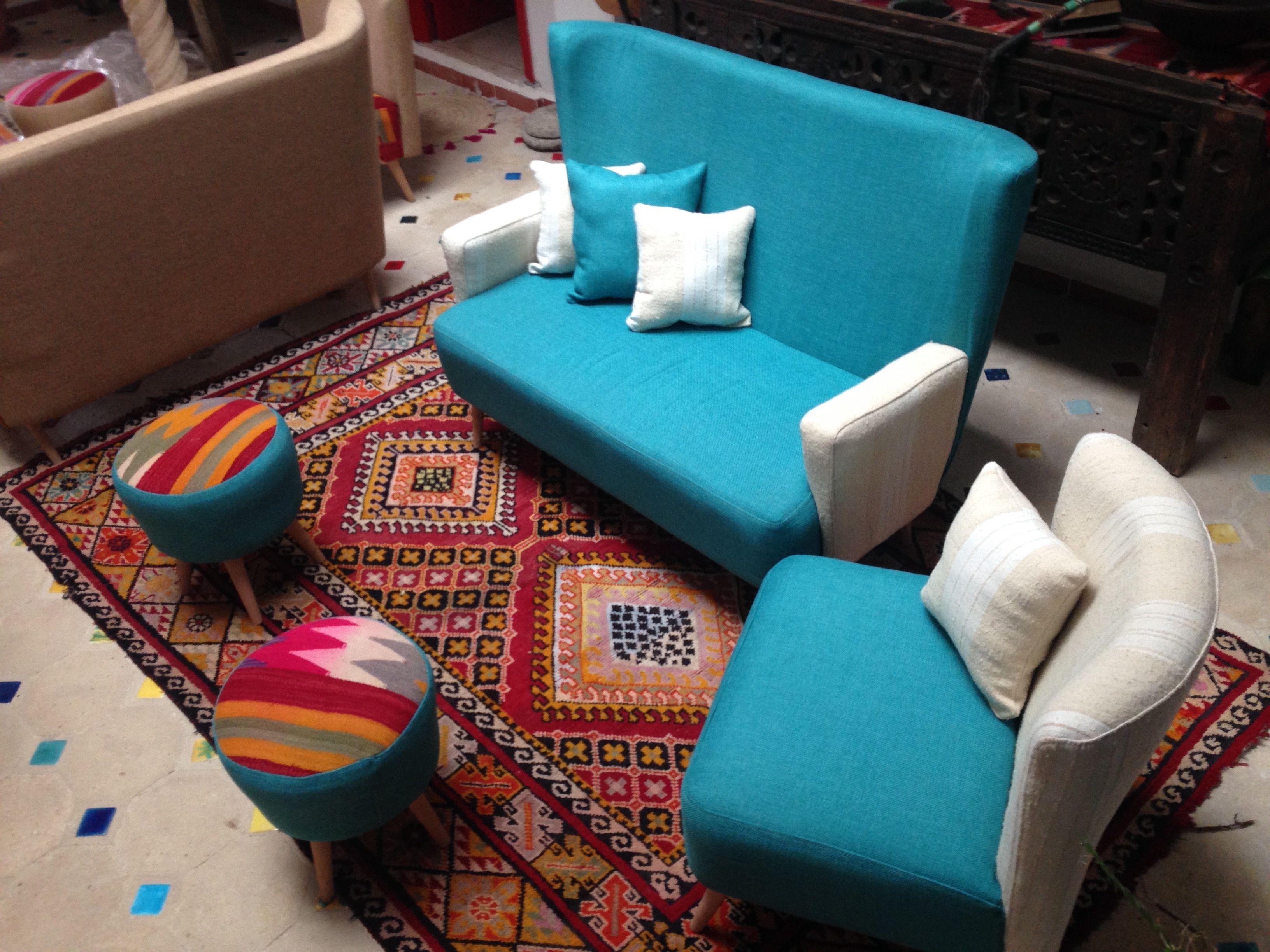 Divan Fauteuil Tabourets By La Dwira Chic Boutique Alger Telemly Hotel Aurassi Artisanat Design Alger Algerie Hassi Home Decor Furniture Decor