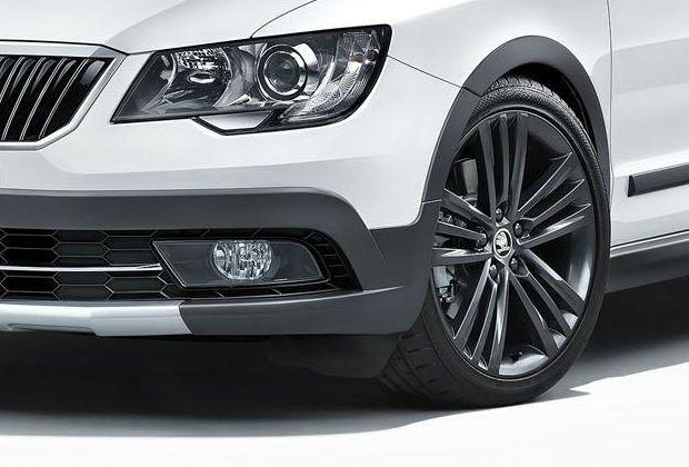 2014 Skoda Superb Wheels Automobile Vehicles