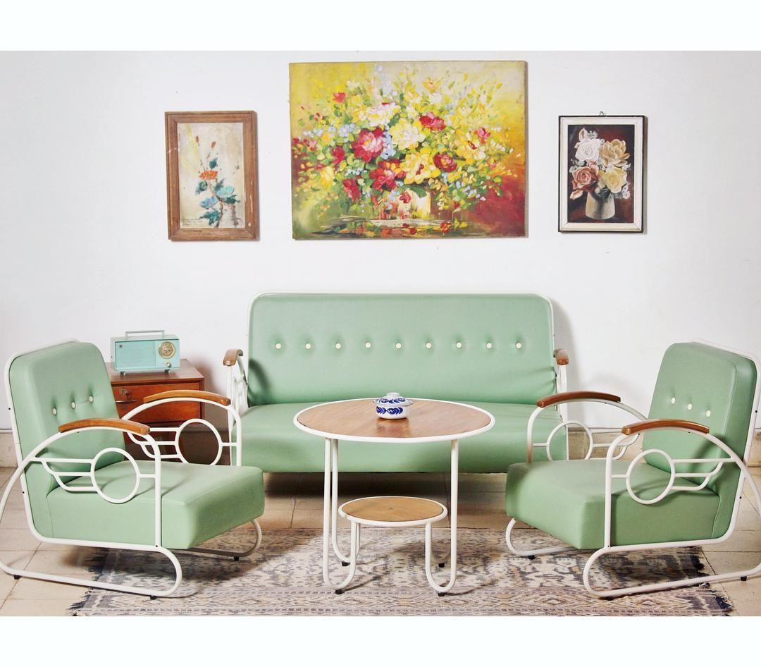 Desain Ruang Tamu Vintage Untuk Ruang Tamu Minimalis Ruang Tamu