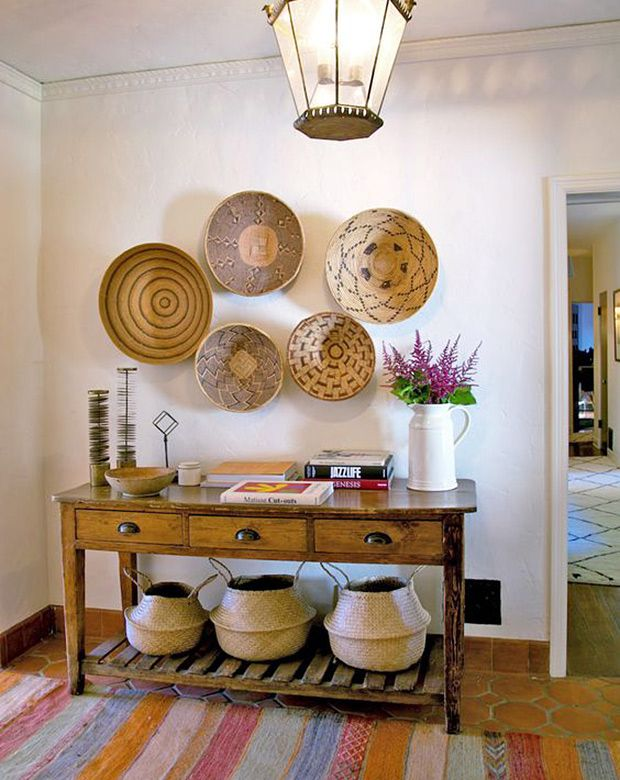 Charmant ... Where Belly Baskets And Woven Bins Hung On The Wall Hint At The Natural  Materials Found Throughout The House. | Photo: Courtesy Of Home Again