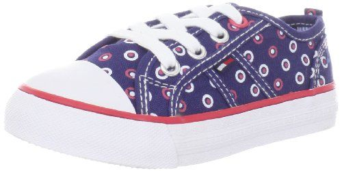 Tommy Hilfiger Kids Big Ella Print Lace Up Sneaker (Infant/Toddler/Little Kid/Big Kid)