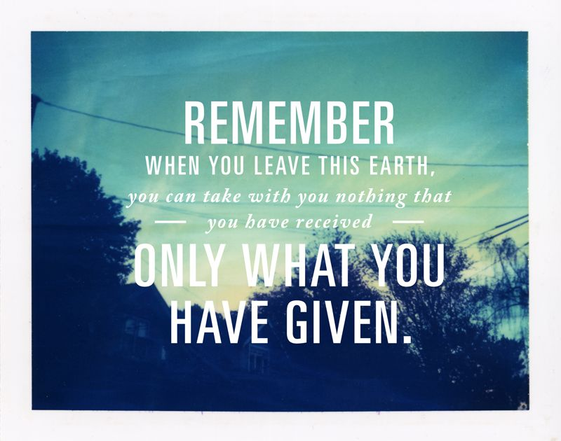 Remember Generosity Quotes Inspirational Quotes Inspirational Words