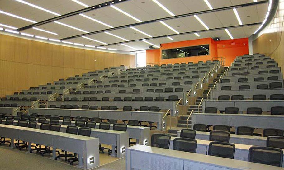 Lecture Hall- Temple University School of Medicine, Philadelphia PA
