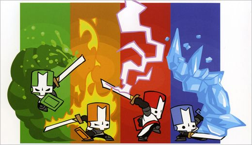 Cute And Funny Illustrated Wallpapers Of Aliens Castle Crashers 2d Game Art Cartoon Styles