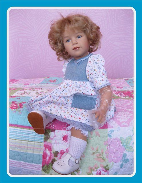 Anni от Sissel Skille и ее друзья: малыши от Bettine Klemm и Brigitte Paetsch / Коллекционные куклы Sissel Bjorstadt Skille, Сиссель Скилле / Бэйбики. Куклы фото. Одежда для кукол