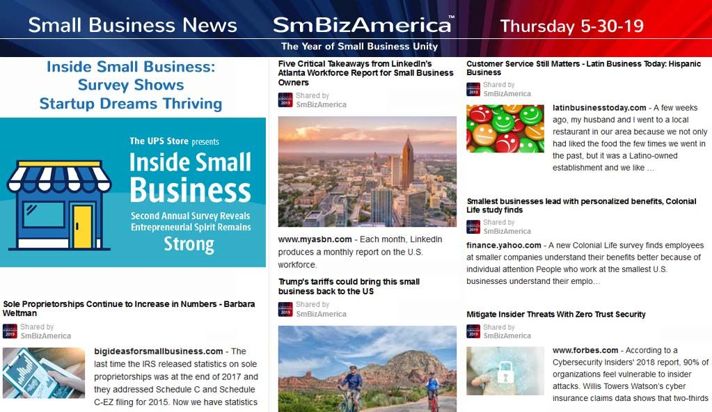 Small Business News 5 30 19 Business News Business 5 News