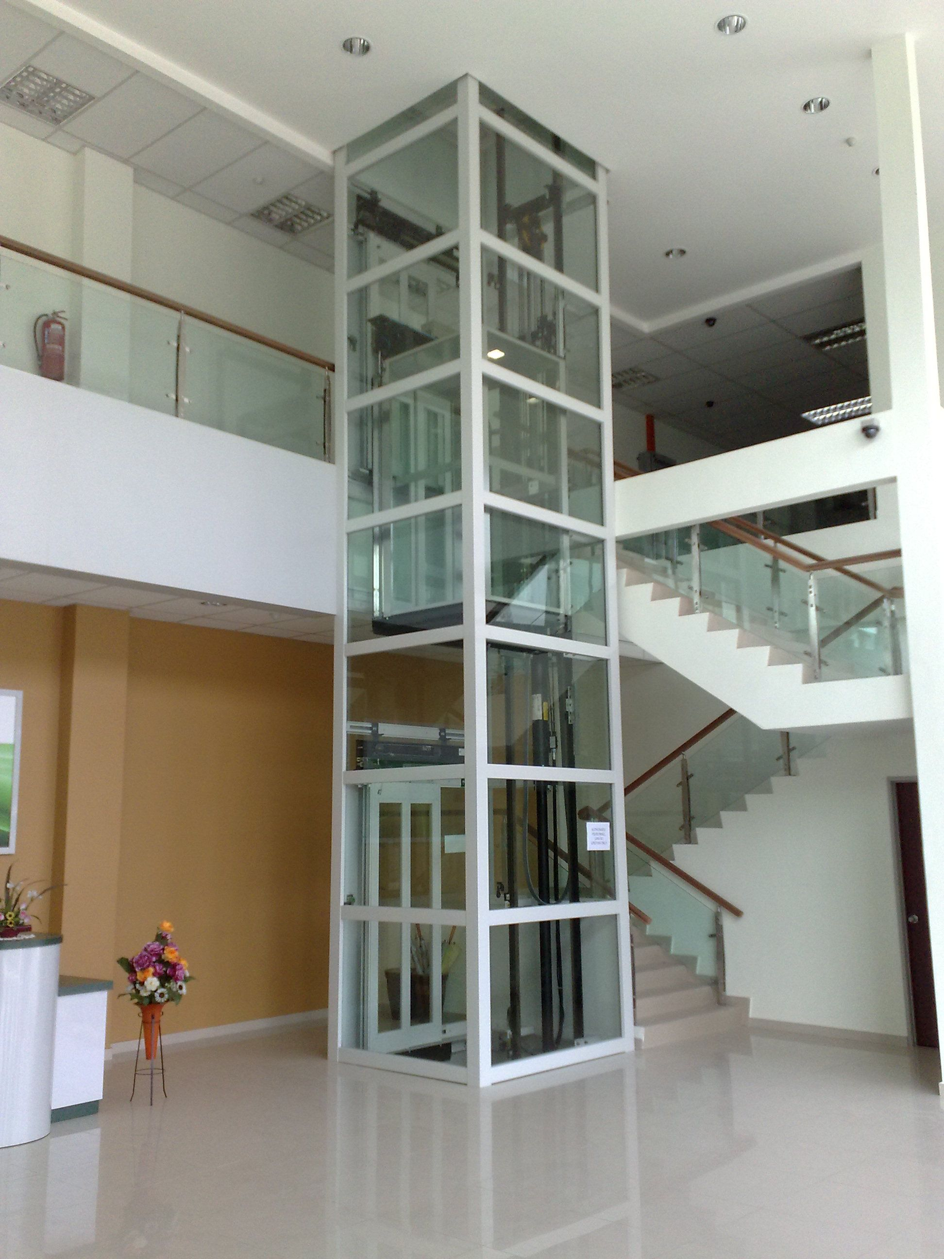 Glass elevator dimensions google search office design for Elevator house