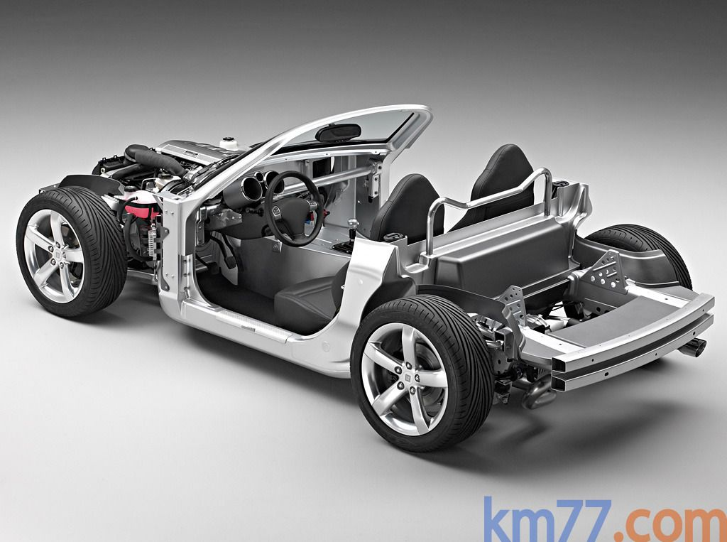 Opel GT 2.0 Turbo 265 CV Gama GT Descapotable Técnica Chasis 2 puertas