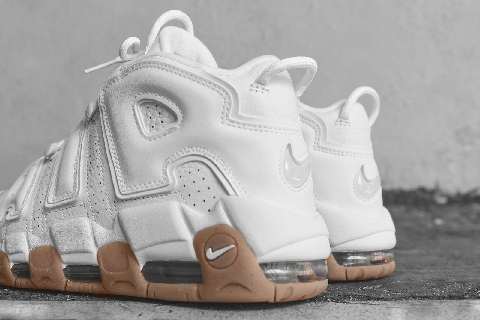 Uptempo - White / Gum   Nike, Sneakers