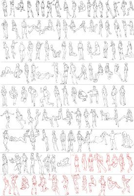 Gesture studies ✤ || CHARACTER DESIGN REFERENCES | キャラクターデザイン | • Find more at https://www.facebook.com/CharacterDesignReferences & http://www.pinterest.com/characterdesigh and learn how to draw: concept art, bandes dessinées, dessin animé, çizgi film #animation #banda #desenhada #toons #manga #BD #historieta #anime #cartoni #animati #comics #cartoon from the art of Disney, Pixar, Studio Ghibli and more || ✤