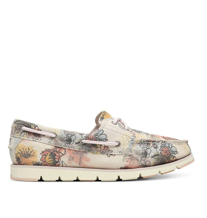 chaussure bateau femme timberland