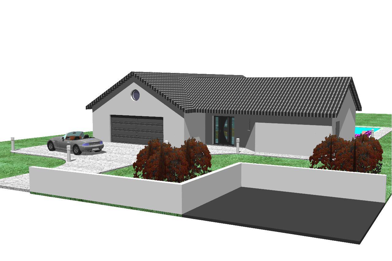 Nous recherchons des plan de maison en v d 39 une surface d for Maison de 100m2