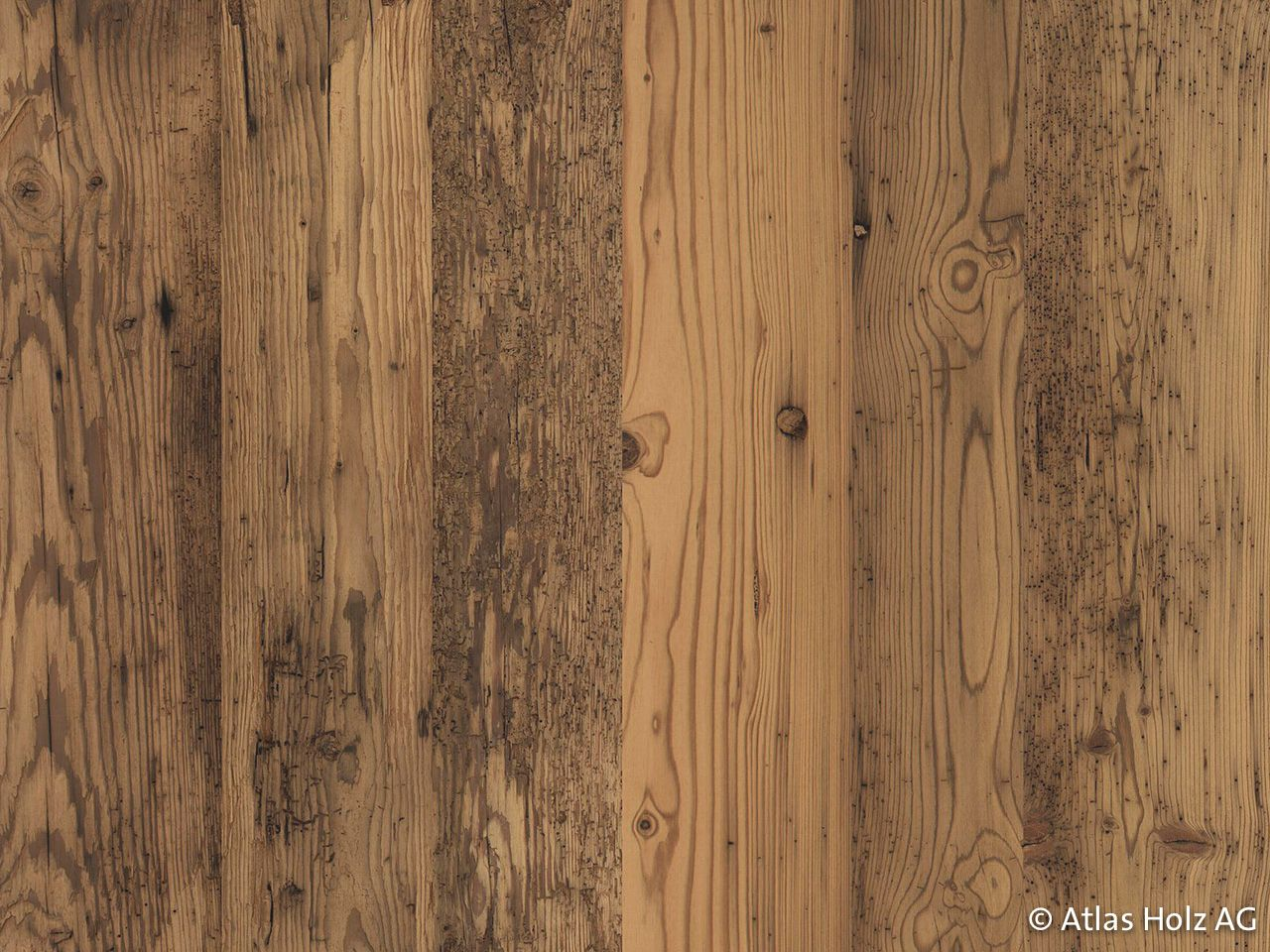 Atlas Holz AG, Schweiz - Altholz 3-Schichtplatten | Wand ...