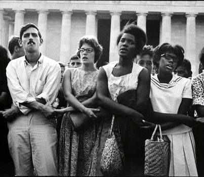 The March On Washington In Pictures | White people ...