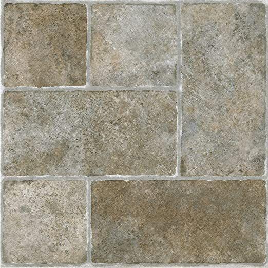 Achim Home Furnishings Achig Ftvgm33720 Nexus Quartose Granite 12 Inch X 12 Inch Self Adhesive Vinyl Floor 337 20 Tiles In 2020 Vinyl Flooring Tile Floor Vinyl Tile