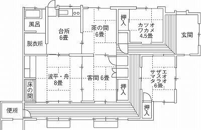Ehime 15 2 3 3 0 2 Jpg 400 260 平面図 日本家屋 和モダン