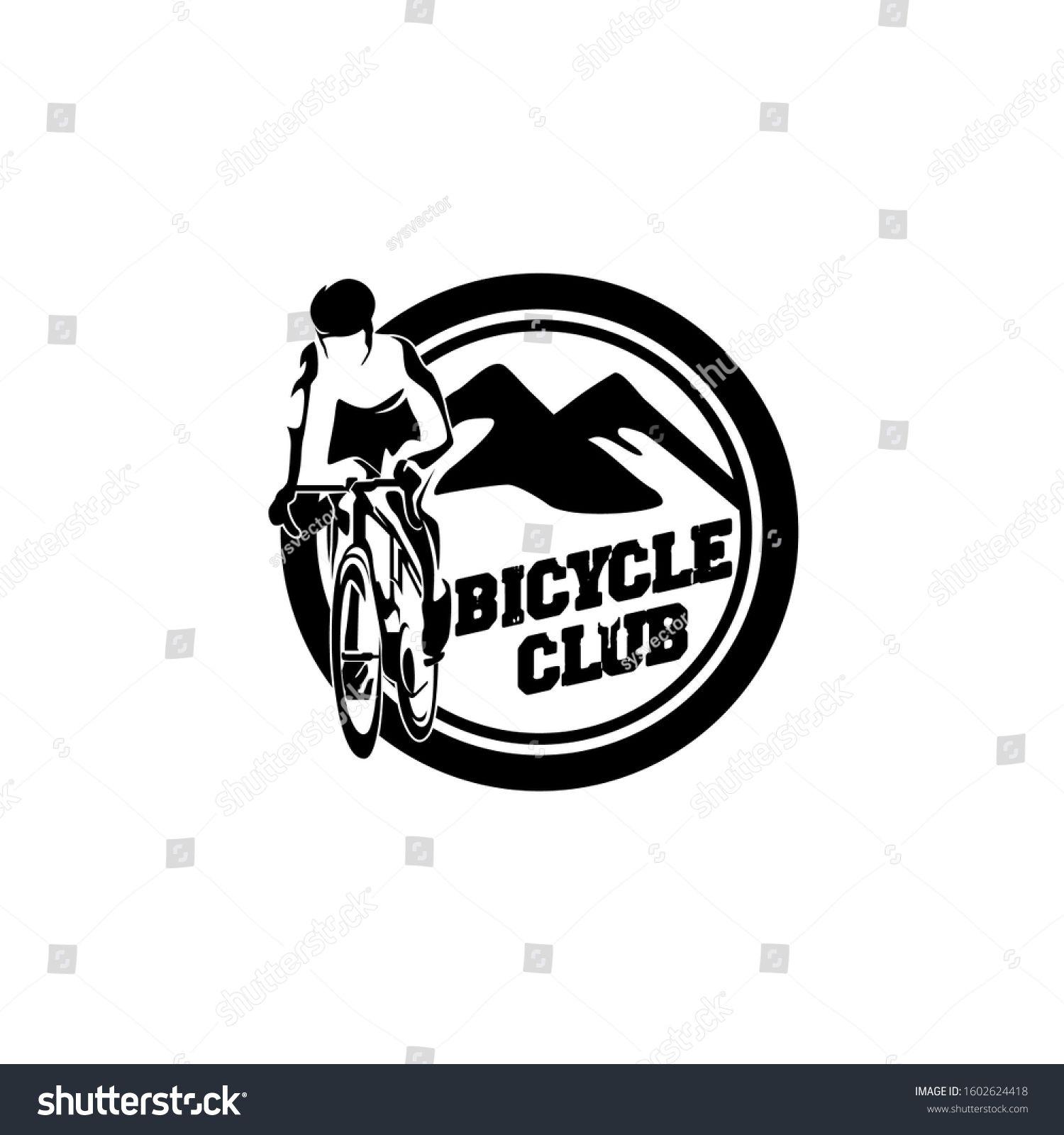 Adventure Sport Bicycle Bike Club Team Logo Template Vector Ad Sponsored Bicycle Bike Adventure Sport In 2020 Adventure Sports Adventure Bike Bicycle Bike
