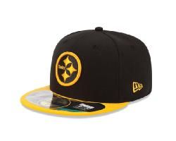 2da1468f Pittsburgh Steelers New Era 59FIFTY Game Edition Players Fitted Hat ...